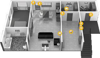 Vzorová instalace – byt